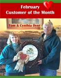 February Customer of the Month