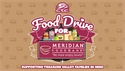 Contactless Food Drive for the Meridian Food Bank