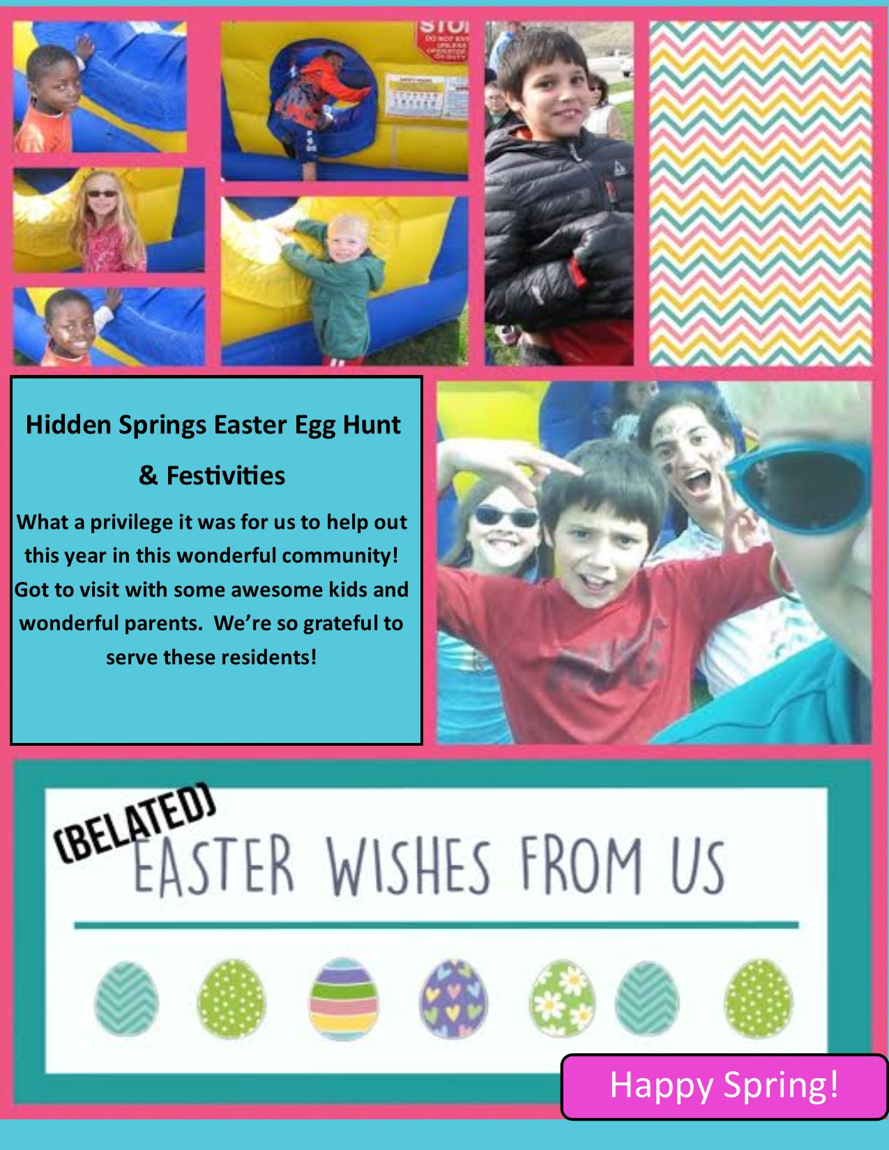 Easter in Hidden Springs!